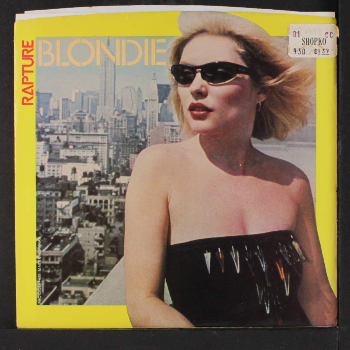BLONDIE - rapture / walk like me 45 rpm single - Amazon.com Music