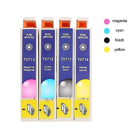 Cartuchos de Tinta genuinos T0715 Multipack para Epson T0711 T0712 ...