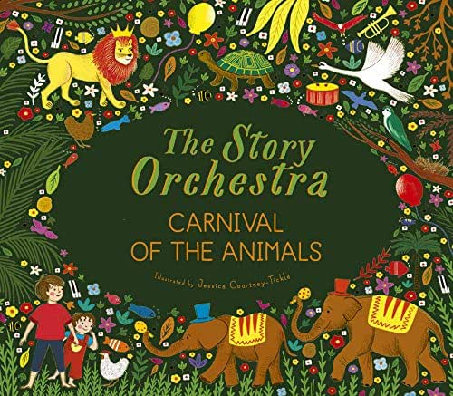 The Story Orchestra: Carnival of the Animals: Press the note to hear Saint-Saëns' music