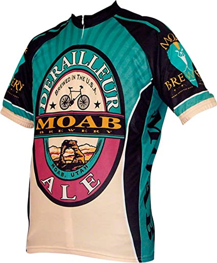 World Jerseys Moab Brewery Derailleur Ale Mens Cycling Jersey (XXX-Large) f7ccdc6c6