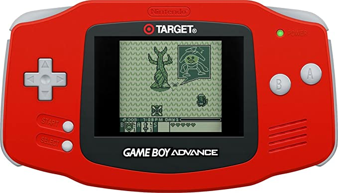 Buy Game Boy Advance, Red (Target Exclusive) Online at Low
