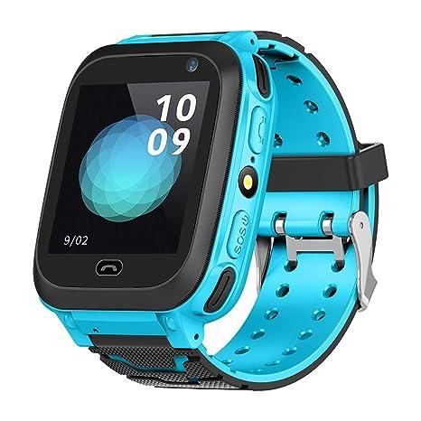 Amazon.com: Kids GPS Tracker Smartwatch 1.44 inch Anti-Lost ...
