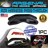 No.1 RZR XP1000 XP 1000 900S 900XC 900 Trail & XP1K 4 Seater & General Race Harness Pass-Through Bezel (1PC)