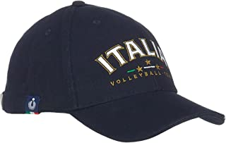 Errea, Casquette de la Nationale Italienne Volley, Bleu.