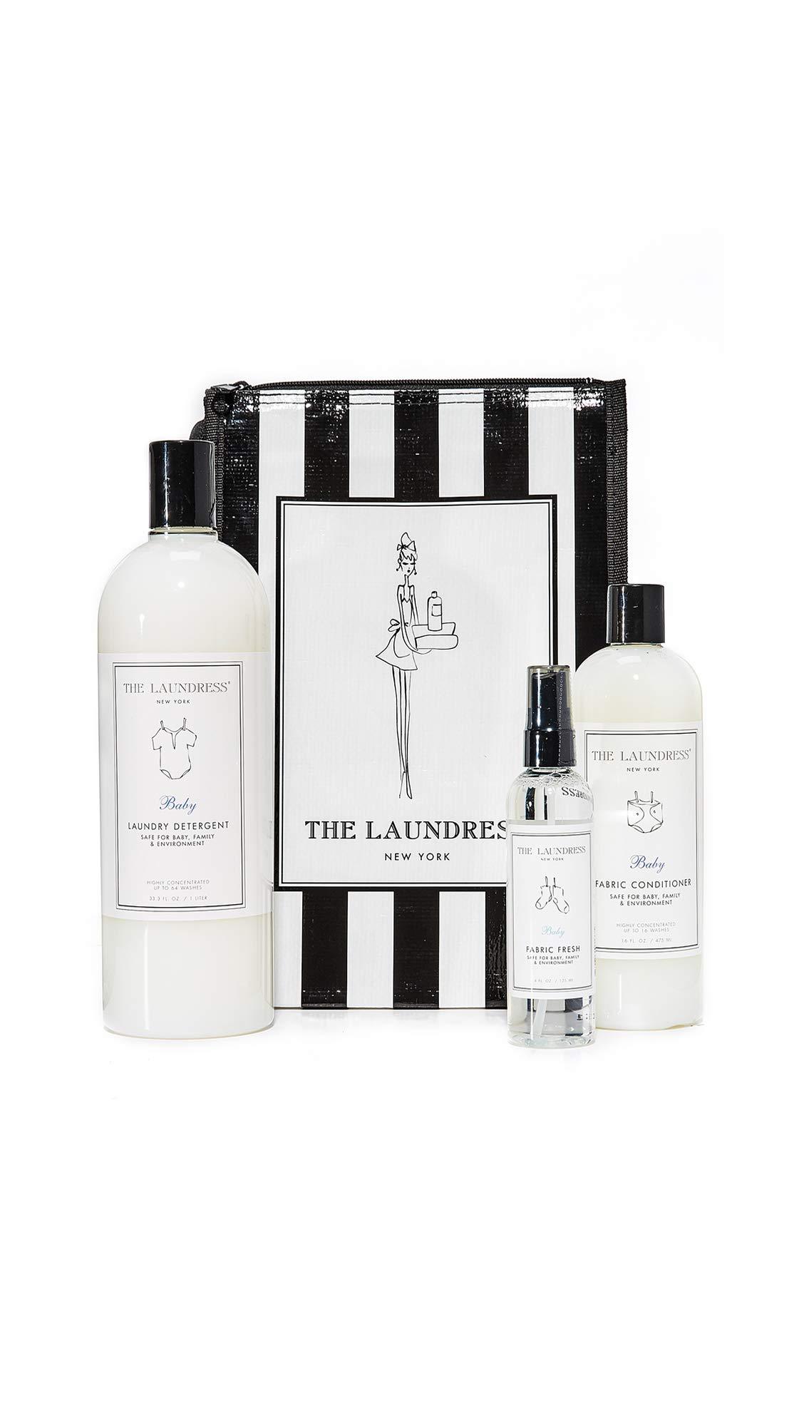 The Laundress Women's Baby Bundle, Black/White, One Size