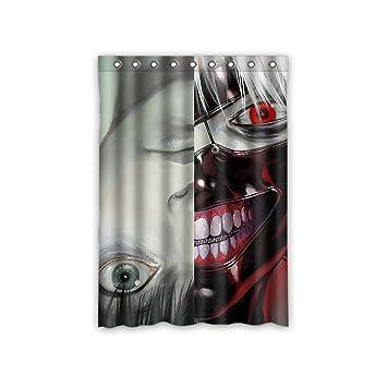 Amazon.de: jiduidodo Weihnachtsbaum Custom Anime Tokyo Ghoul Fenster ...