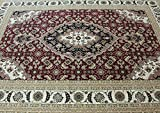 ~8 Ft. X 11 Ft. T02 Burgundy Authentic Living Room Modern Area Rug , Monalisa Collection, on Sale! Review