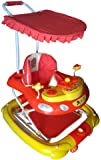 Her Home Luxury 7-in-1 Musical Baby Walker with Stroller & Umbrella