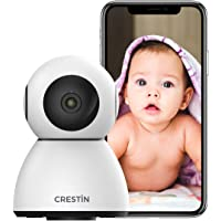 Security Camera CRESTIN IP Camera 1080P HD, Baby Monitor, WiFi Home Indoor Camera for… photo
