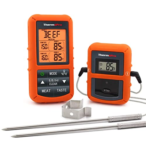 digital thermometer with a sensor wire. Black Bedroom Furniture Sets. Home Design Ideas
