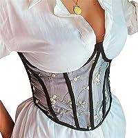 Damen Vintage Korsett Bustier Tops Shaper Waist Corset Corsage Bauchweg Shapewea