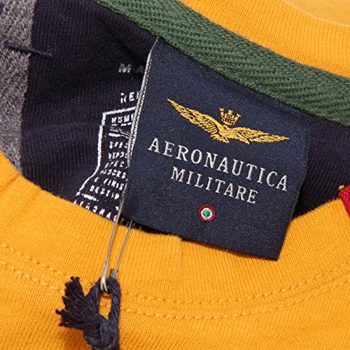 Long Bimbo T Kid Sleeve 3430s Giallo Militare shirt Maglia Aeronautica tpRYqY