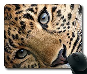 Leopard Limited Design Oblong Mouse Pad by Cases & Mousepads