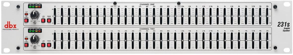 DBX 231s Dual Channel 15-Band Car Audio Equalizer