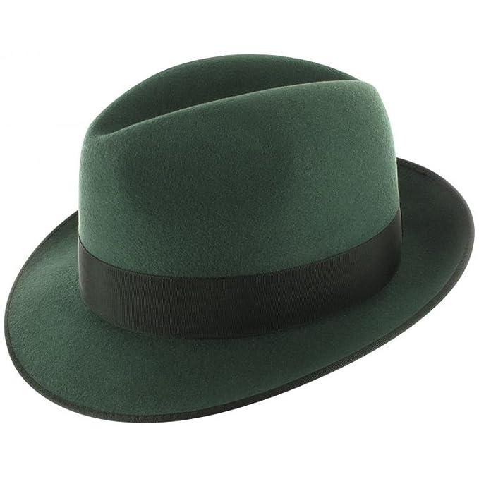Sombrero de Cazador Green Forest verde oscurosombrero caza oscuro: Amazon.es: Ropa y accesorios