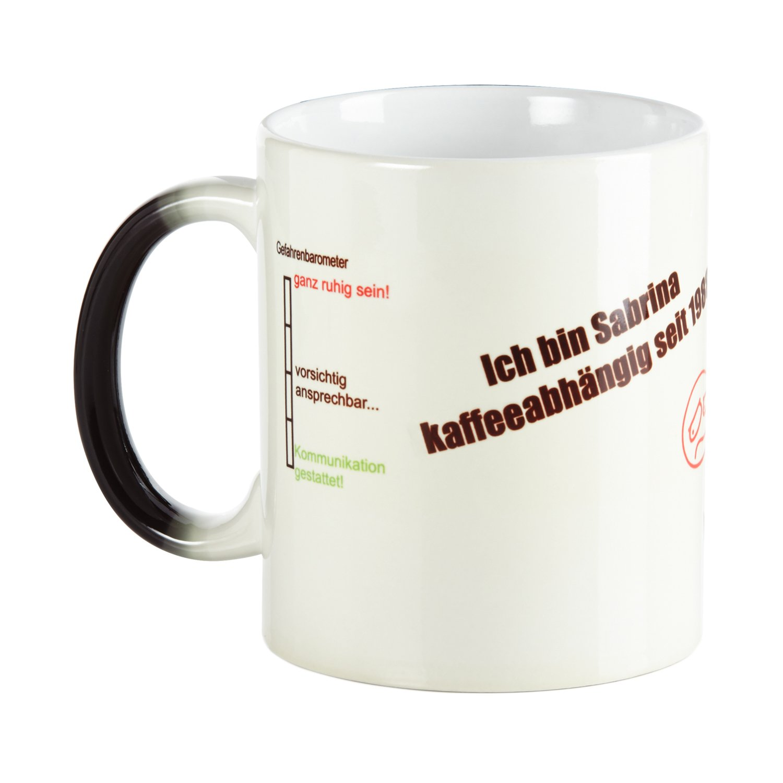 Fr/ühst/ücksbrettchen 2er Set Klugschei/ßer Geschenkset Tasse