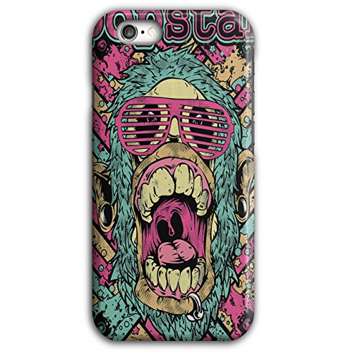 Popstar Funky Fashion Swag Chimp iPhone 6 Plus / 6S Plus Case | Wellcoda - Masterpiece Wigs