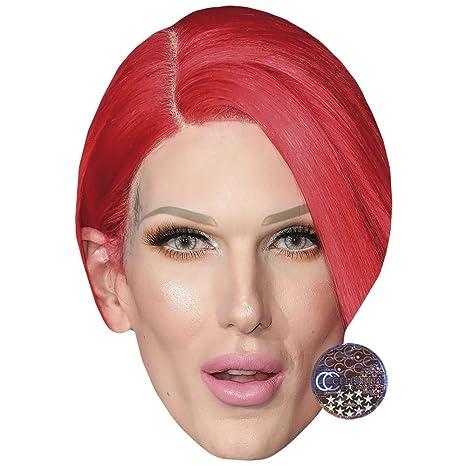 Amazon.com: Máscara de celebridad, cara de tarjeta y máscara ...