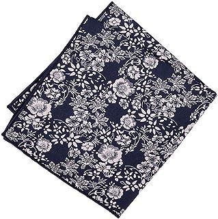 YJiaJu Fashion Cotton Print Men Women Handkerchief Pocket Towel Square Scarf Business West Assembly