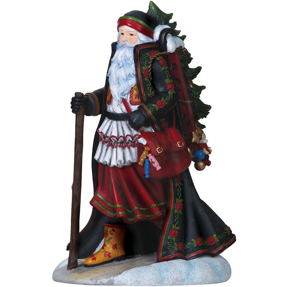 "Pipka, Christmas Gifts, ""Mikulas Santa"", Limited Edition Resin Sculpture, #7151201"