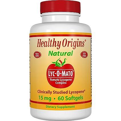 Lyc-O-Mato, licopeno del tomate Complex, 15 mg, 60 Cápsulas