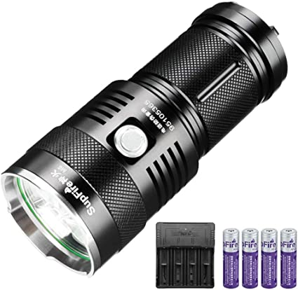 5 Modes LED XML L2 Lampe de Poche Zoom 18650 Lampe Torche 1100 Lumens