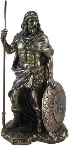 Veronese Norse God Baldr Bronzed Finish Statue Baldur Brave Bold