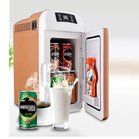Mini Nevera 8L,neveras Coche electrica, refrigerador de frío/Calor ...
