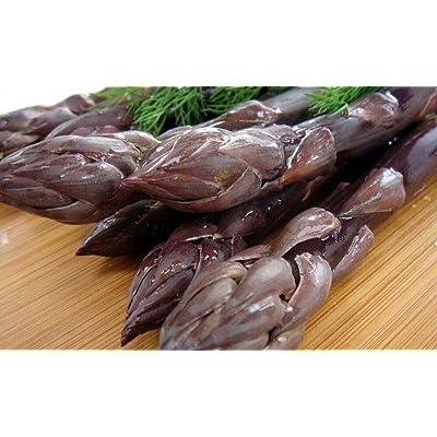 AchmadAnam - Pacific Purple Asparagus 10 Roots - The Best Purple Asparagus - No GMOs : Garden & Outdoor
