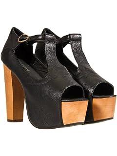 Dublin Patent, Mocassins (Loafers) Femme, Noir (Nero), 39 EUJeffrey Campbell