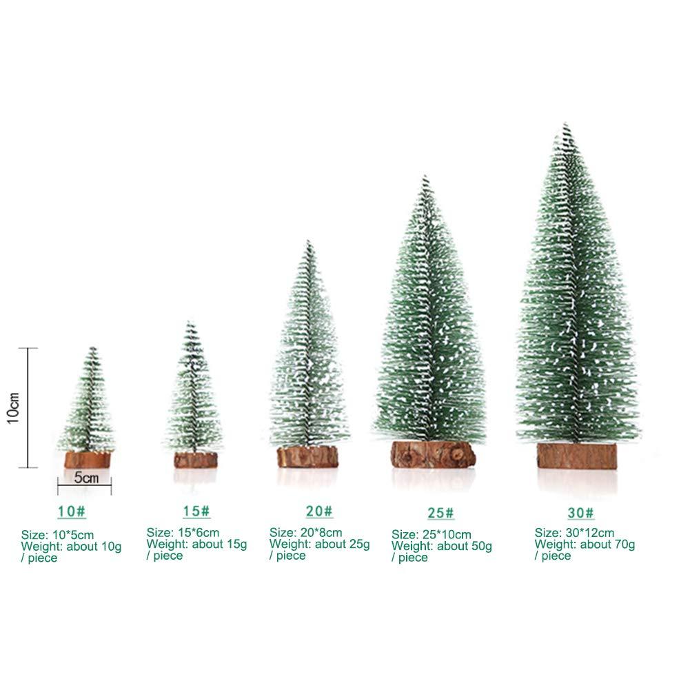 5 St/ück Mini-Weihnachtsb/äume Lichterkette Basteln f/ür Weihnachtsdekoration 100 cm Weihnachtsbaum mehrfarbig Tisch-Weihnachtsbaum-Dekoration Zedernbaum