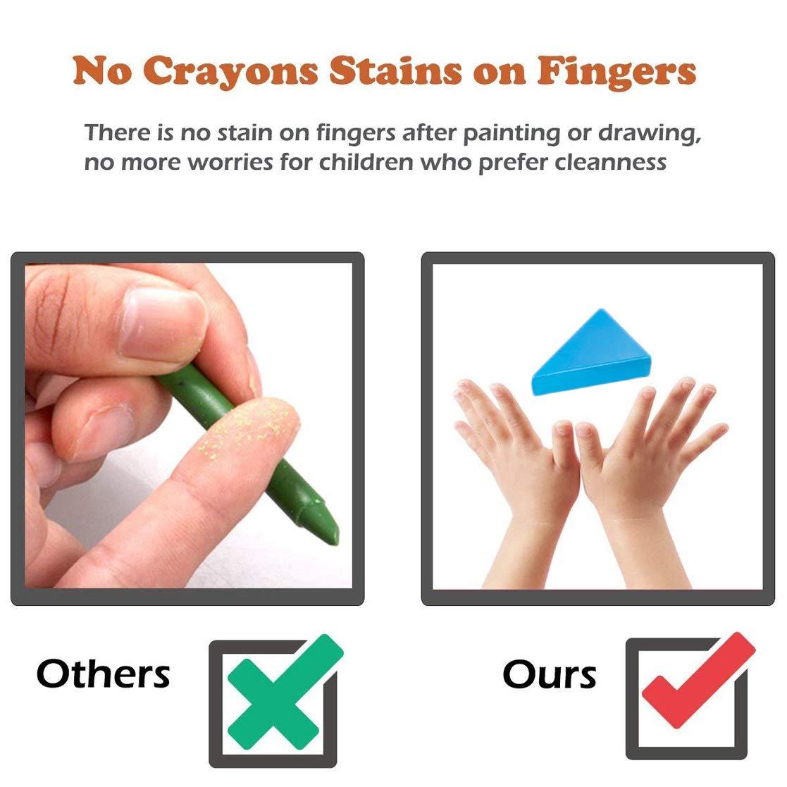 Crayons De Bébé Enfants Peut Comestible Sûreté Et Non