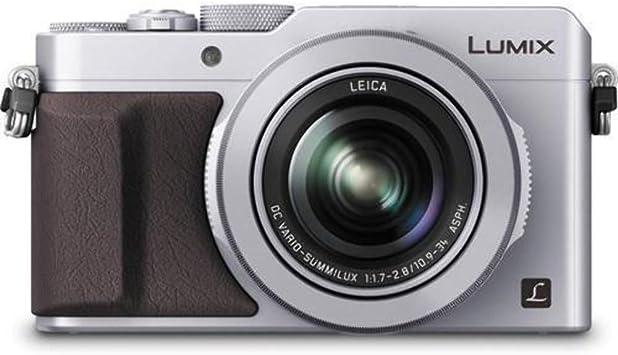 Amazon Com Panasonic Lumix Lx100 4k Point And Shoot Camera 3 1x Leica Dc Vario Summilux F1 7 2 8 Lens With Power O I S 12 8 Megapixel Dmc Lx100s Usa Silver Camera Photo