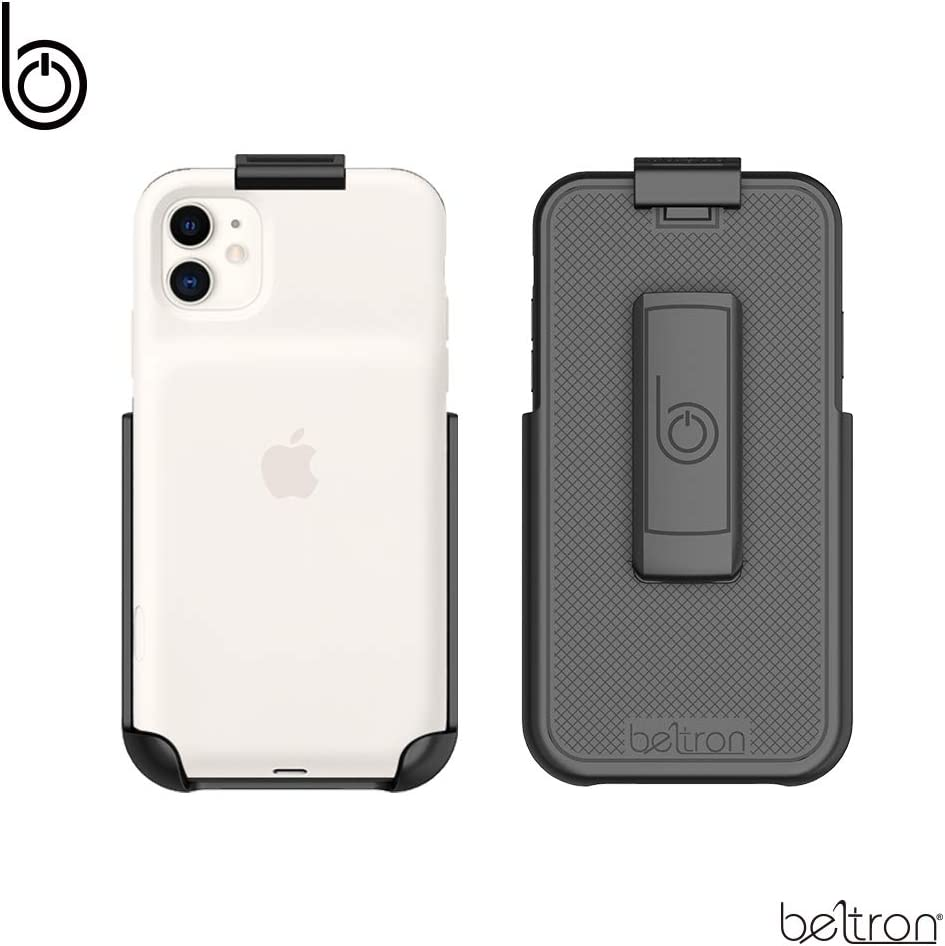 Belt Clip Holster Compatible with Apple Smart Battery Case (for iPhone 11) - Smart Case NOT Included