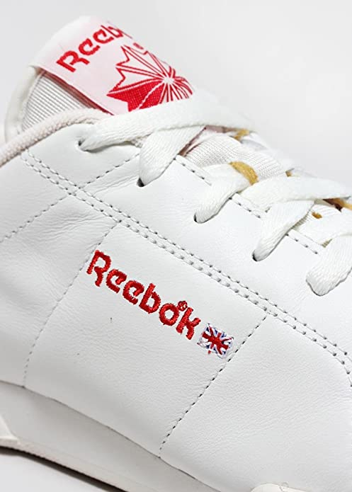 8f91b93973082 New Reebok NPC VINTAGE Classic Mens Trainers White Red Rush M46566 UK 13 EU  48.5 US 14  Amazon.co.uk  Shoes   Bags