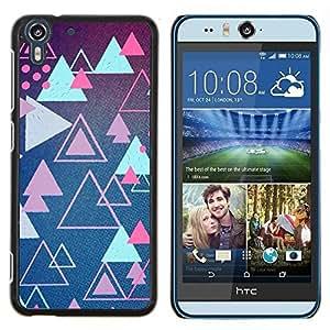 Stuss Case / Funda Carcasa protectora - Rose Formes Retro Game - HTC Desire Eye M910x