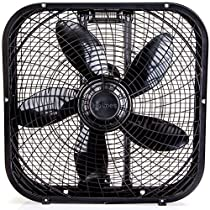 NEW Black 20 Box Fan sturdy