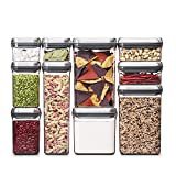 OXO SteeL 10-Piece Airtight POP Food Storage Container Set