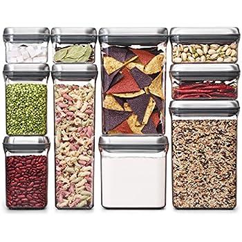 Amazon Com Oxo Good Grips 10 Piece Airtight Food Storage