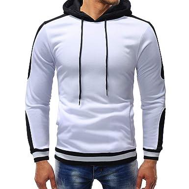 AMUSTER  Sweat-Shirts Homme Camouflage d automne et d hiver à Capuche  décontracté 8348048b3e9