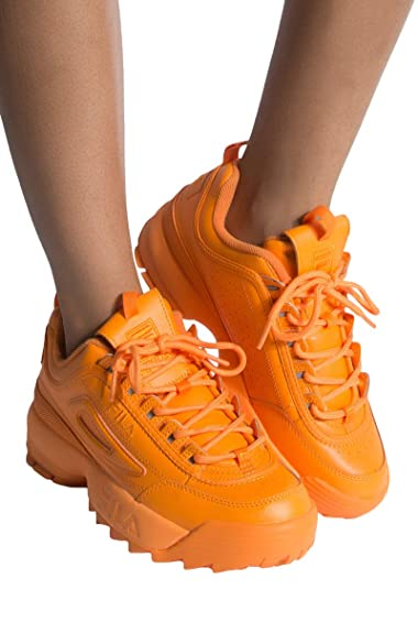 chaussure fila fille orange