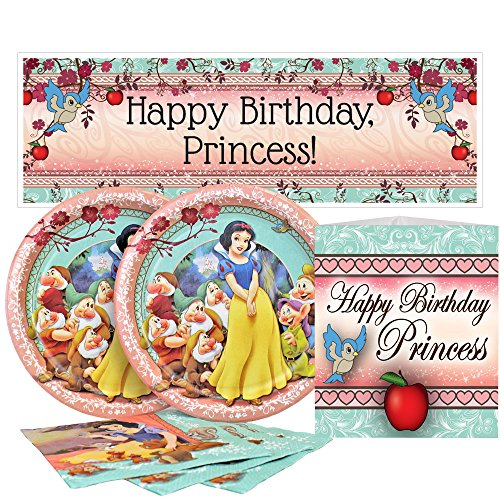 Birthday Direct Snow White Value Party Kit for Up to 16 Guests ()