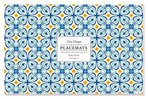 Faux Designs Paper Placemats - Havana