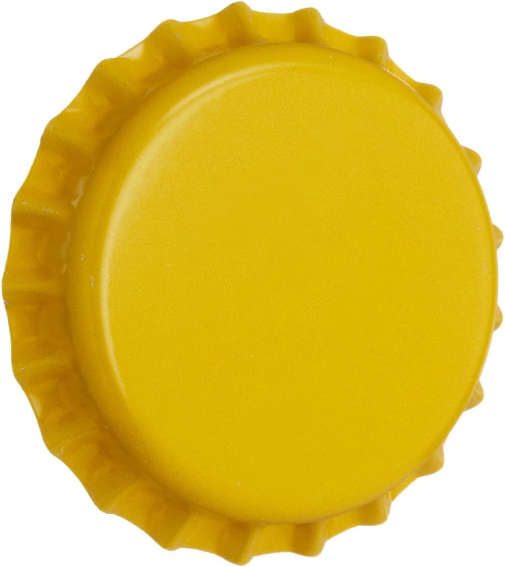 Yellow Oxygen Absorbing for Homebrew Beer Bottle Crown Caps