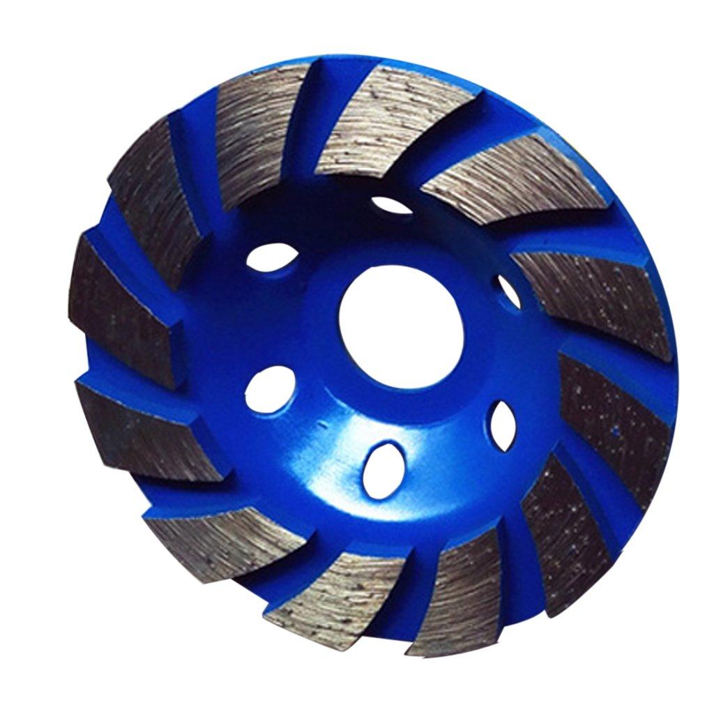 MagiDeal Disque Diamant à Meuler le Béton 100x22mm - bleu