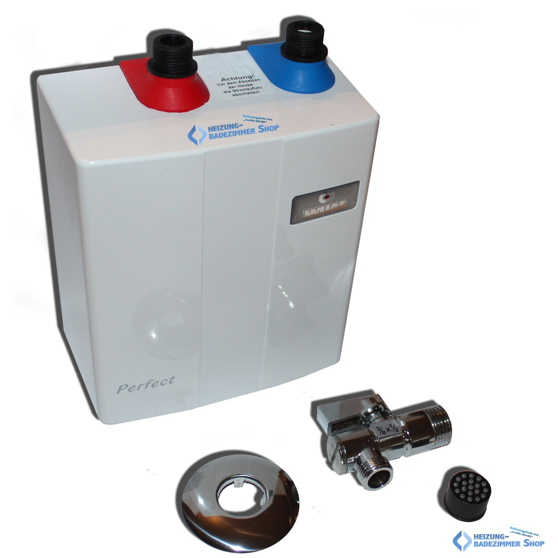 perfect klein durchlauferhitzer 3,5kw elektronisch untertisch ... - Durchlauferhitzer Küche Untertisch