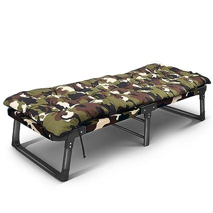 Amazon.com: SjYsXm-reclinables Camuflaje Cama plegable ...