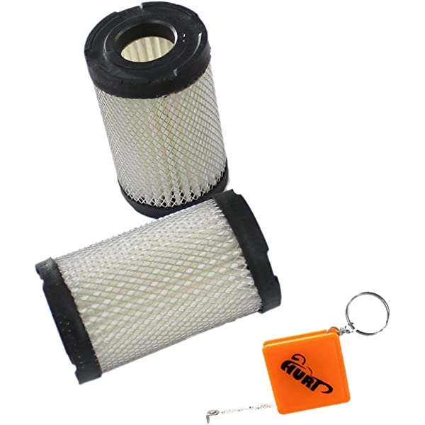 43s 17S Atco Air Filter 35066 Fits petrol classic 35s Atco Balmoral 14S HURI Pack of 2 Replacement Tecumseh Qualcast