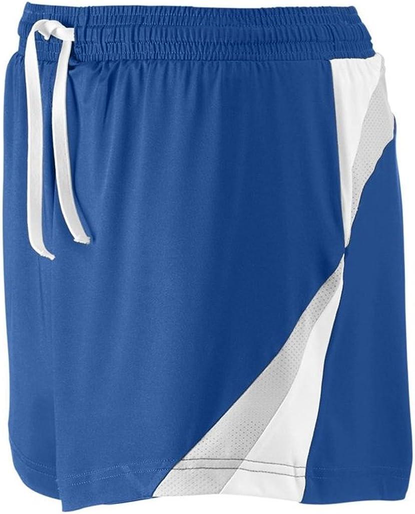 XXX-Large, Sport Royal//Sport Silver Ash City Apparel Team 365 Ladies All Sport Short