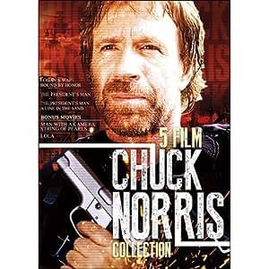 Amazon.com: 5-Film Chuck Norris Collection: Chuck Norris ...